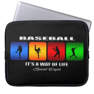 Cool Baseball Laptop Sleeve
