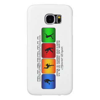 Cool Baseball Samsung Galaxy S6 Cases