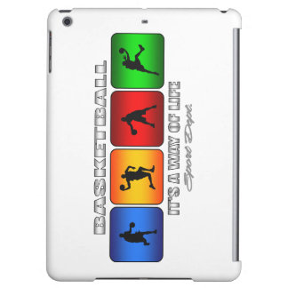 Cool Basketball It Is A Way Of Life iPad Air Case