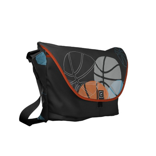 COOL BASKETBALL Messenger Bag