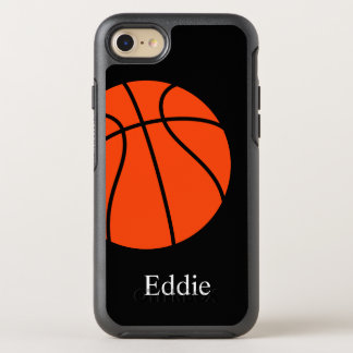Cool Basketball Theme OtterBox Symmetry iPhone 8/7 Case