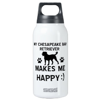 Cool Bay Retriever dog breed designs Insulated Water Bottle