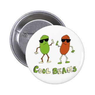 Cool Beans 2 Inch Round Button