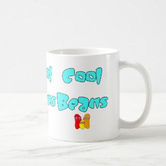 Cool Beans Basic White Mug
