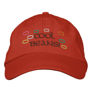 Cool Beans! Embroidered Hat