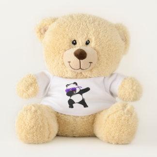cool beer dab design teddy bear