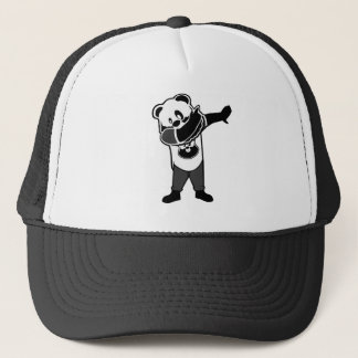 cool beer dabbing design trucker hat