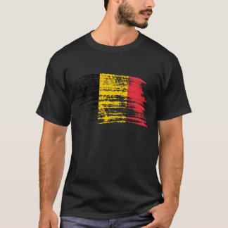 Cool Belgian flag design T-Shirt