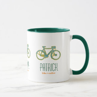 cool bicycles personalized mug