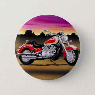 Cool bike 2 inch round button