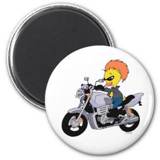 Cool biker magnet