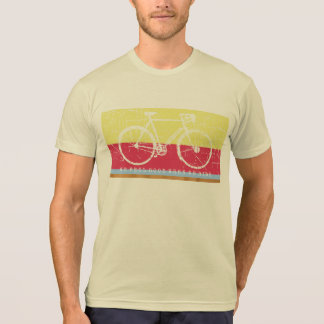 cool biking inspired cream color T-Shirt