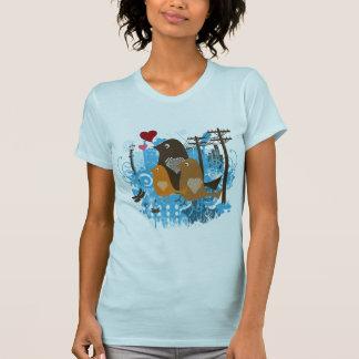 Cool Birds Artwork T-Shirt