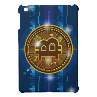 Cool Bitcoin logo and graph Design iPad Mini Cover