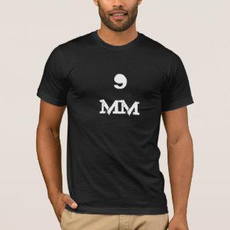 cool black 9 mm ammo tactical t shirt