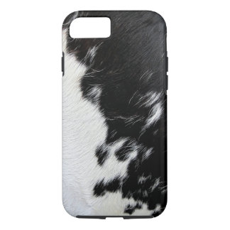 Cool Black and White Cow Hide Case-Mate iPhone Case