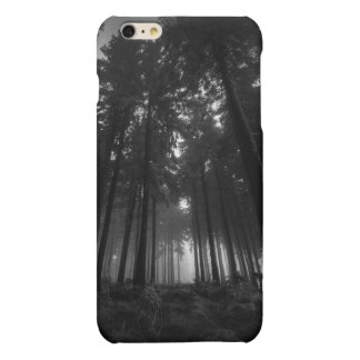 Cool Black and White Forest Fog Silence Gifts