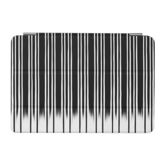 Cool Black and White Striped Pattern iPad Mini Cover