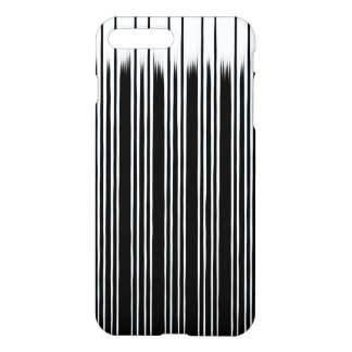 Cool Black and White Striped Pattern iPhone 7 Plus Case