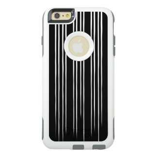 Cool Black and White Striped Pattern OtterBox iPhone 6/6s Plus Case