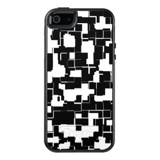 Cool Black and White Trendy Stylish Pattern OtterBox iPhone 5/5s/SE Case