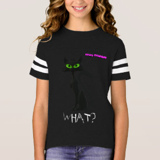 Cool Black Cat Tee Shirt