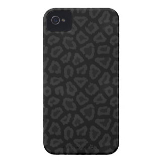 Cool Black Leopard Print iPhone 4 Case