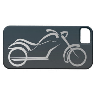 Cool Black Silver Motorcycle Frame iPhone 5 Covers