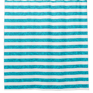 Cool Blue And White Striped
