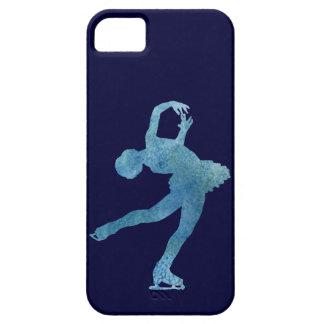 Cool Blue Figure Skater iPhone 5 Case