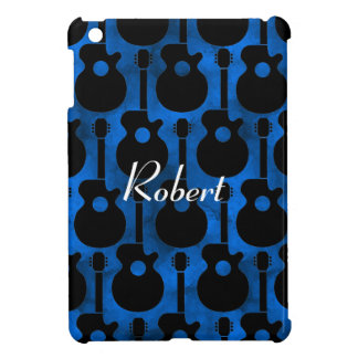 cool blue guitars case for the iPad mini
