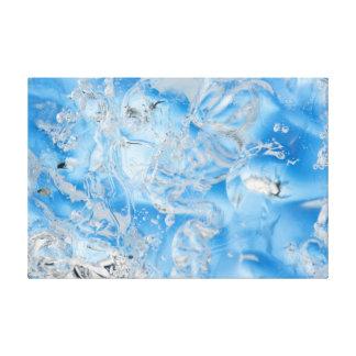 Cool Blue Iceberg Canvas Print
