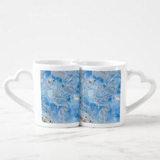Cool Blue Iceberg Coffee Mug Set
