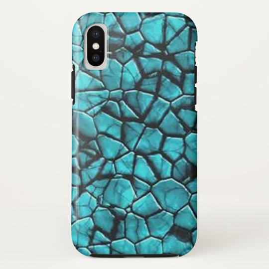 Cool Blue marble stone texture design HTC Vivid / Raider 4G Case