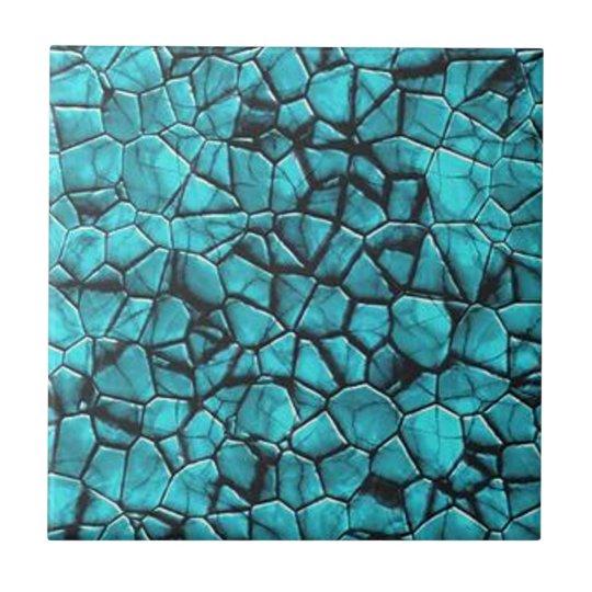 Cool Blue marble stone texture design Tile