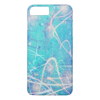 Cool blue streaks iPhone 8 plus/7 plus case