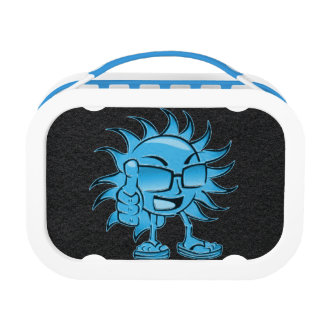 Cool Blue Sun Lunchbox