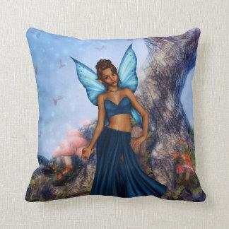 Cool Blue Throw Pillows