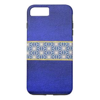 Cool Blue Velvet Texture Design iPhone Case