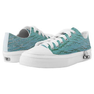 Cool blue water Low-Top sneakers