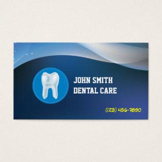 Cool Blue Waves Dental Care Business Card
