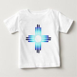 Cool Blue Zia Baby T-Shirt