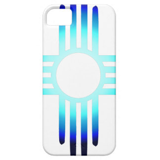 Cool Blue Zia Case For The iPhone 5
