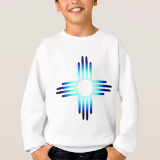 Cool Blue Zia Sweatshirt