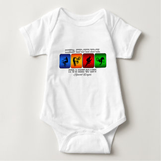 Cool BMX It Is A Way Of Life Baby Bodysuit