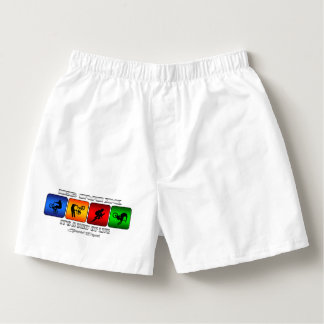 Cool BMX It Is A Way Of Life Boxers
