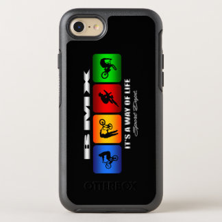 Cool BMX It Is A Way Of Life OtterBox Symmetry iPhone 8/7 Case
