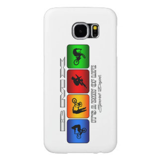 Cool BMX It Is A Way Of Life Samsung Galaxy S6 Cases