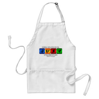 Cool BMX It Is A Way Of Life Standard Apron
