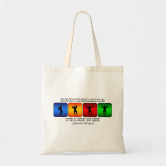 Cool Bodybuilding It Is A Way Of Life Tote Bag